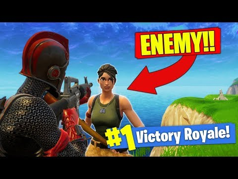 We Found The WORST ENEMY In Fortnite - Battle Royale!