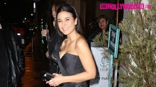 Emmanuelle Chriqui Attends The Marie Claire Image Maker Awards At Catch Restaurant 11017