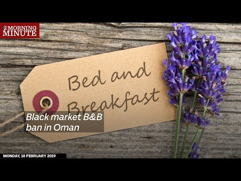 Black market B&B ban in Oman