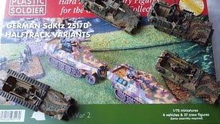 Part. 2 Plastic Soldier Company sdkfz 251/D Variants kit review.Part 2.