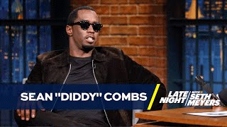"""Sean """"Diddy"""" Combs on Presenting to Drake and Hanging with Kanye and Beyoncé at the 2016 VMAs"""