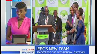 The New changes in the IEBC on inspiring confidence in election