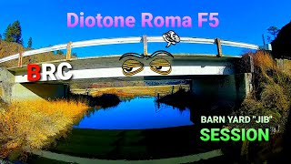 "DIOTONE ROMA F5 F405 / DJI FPV AIR UNIT (Barn Yard ""Jib "" session)"