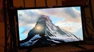 Dyon Live 22 Pro 22 Zoll Fernseher Full-HD, Triple Tuner DVB-T2 anschließen und einrichten Anleitung