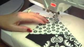 Crazy Quilting In Black And White