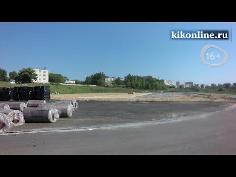 """Реконструкция стадиона """"Синтез"""""""