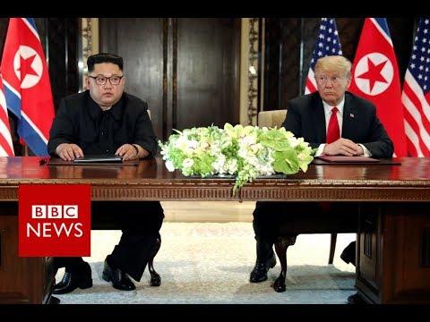 Trump Kim summit: What happens next? – BBC News