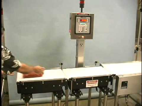 Model MW-16 Checkweigher | Product Test Video | All-Fill Inc Model MW-16