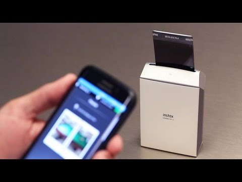 Fujifilm's instant film printer lets you share your pictures IRL