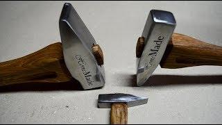 Three Old Rusty Hammers Restoration