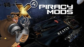 Piracy Mods You NEED to be a Better Space Pirate - X4 Foundations