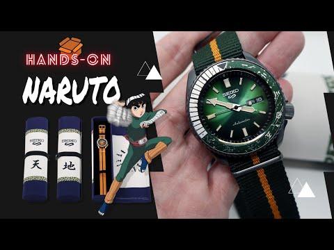 SEIKO 5 SPORTS NARUTO & BORUTO ROCK LEE LIMITED EDITION SRPF73K1
