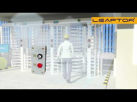 Leaptor Full Height Turnstile Gate