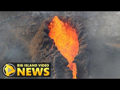 Kilauea Volcano Continues to Erupt