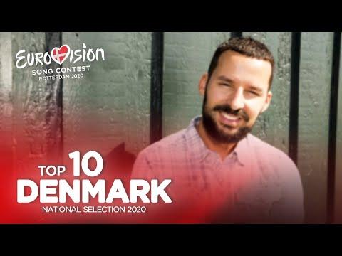 🇩🇰: Eurovision 2020 - Dansk Melodi Grand Prix 2020 - Top 10
