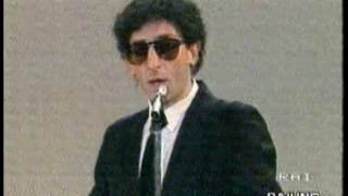 Franco Battiato   Video   Centro di Gravità frammento domenica in 1981