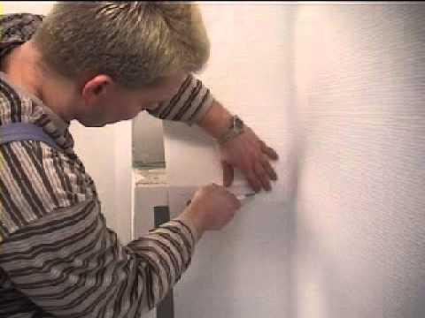Anleitung zum Tapezieren Selbstklebende Tapeten Glasgewebe Surtech SH