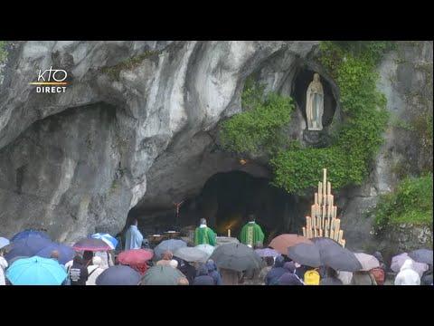 Messe de 10h à Lourdes du 4 juin 2021