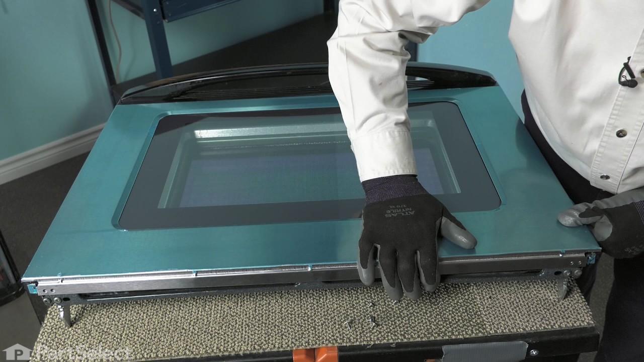 Replacing your Whirlpool Range Exterior Door Panel - Stainless Steel
