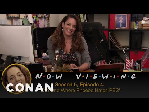 "Conan Checks In On Sona's ""Friends"" Marathon - CONAN on TBS (видео)"