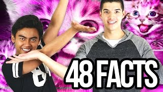 48 FACTS YOU NEVER KNEW!