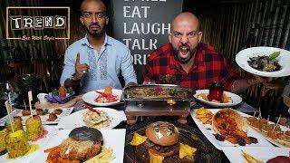 تحدي اكلات غريبة في مطعم تريند 👻  Trend Challenge with Wierd Food
