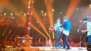Alvaro sings La Cintura at Schlager Champions in Berlin (Saturday 12/01)