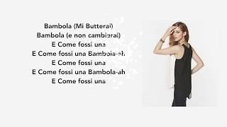 Bambola - betta Lemme Lyrics