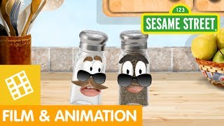 Sesame Street: Number 5 Safari (The Adventures of Salty&Pierre)