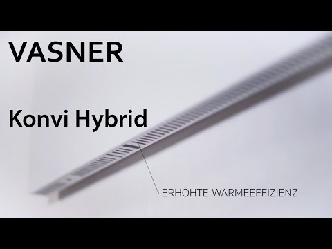 VASNER   Konvi Hybrid Infrarotheizung – die Infrarot Heizung für mehr Wärmeeffizienz   Produktvideo