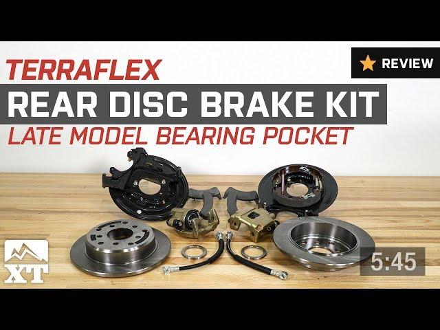 Teraflex Rear Disc Brake Conversion Kit (91-06 Jeep Wrangler YJ & TJ)