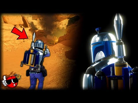 Jango Fett in Star Wars Battlefront 2... I wish I didn't have to tell you it's a mod.