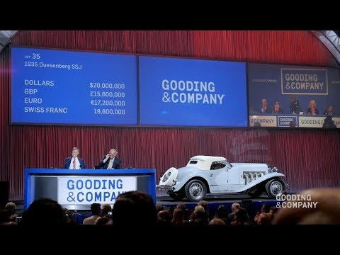 Gooding Company Highlights Pebble Beach 2018