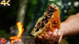 ULTIMATE CRUNCH MEAT PIE IN THE FOREST!