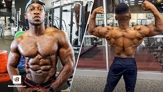 Kennedy Gates' Heavy Back Day Workout w/ Q&A | Spokesmodel Contest by Bodybuilding.com