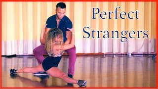 Perfect Strangers - Improvised Zouk Dance - Carlos & Fernanda & Arthur - What Do You Mean?