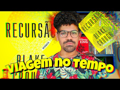 RECURSÃO - BLAKE CROUCH | FICÇÃO CIENTIFICA DE EXPLODIR A CABEÇA