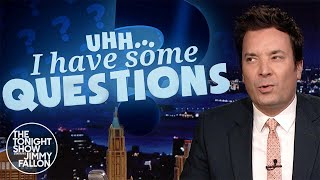 Uhh I Have Some Questions: How Much Arsenic Is Too Much? | The Tonight Show Starring Jimmy Fallon
