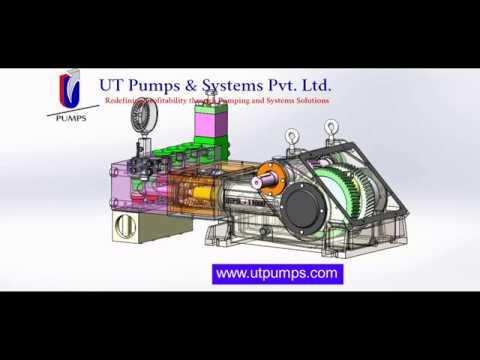 Triplex Plunger Pump Models UTPS-11000