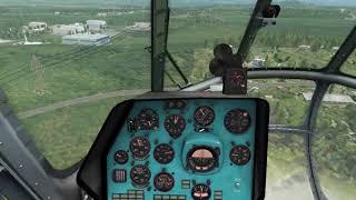 Как избежать полное вихревое кольцо на Ми 8 при посадке