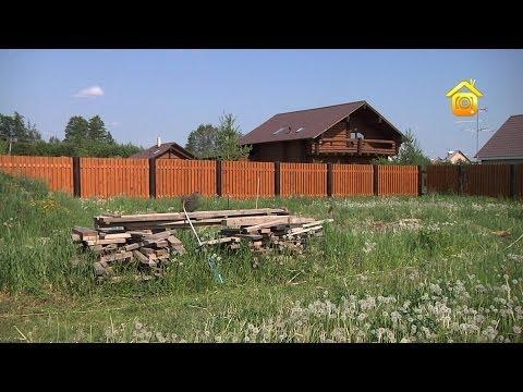 Полупрозрачный деревянный забор. Своими руками // FORUMHOUSE