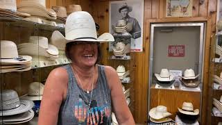 Cowboy Hat Shaping. Hispanic High Crown With Hearts In Bakersfield. How To Video