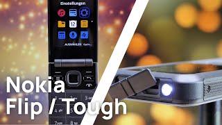 Nokia Flip 2720 und Nokia Tough 800 Review