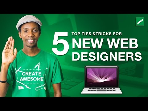 Top 5 Tips for New Web Designers | Web Design