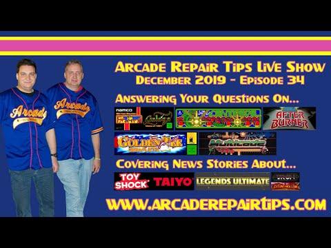 Arcade Repair Tips - Live Show - Episode 34