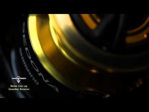 Shimano Sedona FE elsőfékes orsó videó