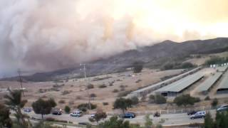 Ventura Fire May 2013 Drone Footage