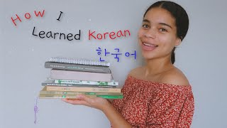 How To Learn Korean From Scratch // How To Self Study Korean