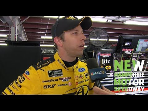Brad Keselowski wins Busch Pole Award at New Hampshire