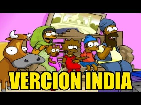La Verdad Sobre Los Sighnsons, Version India De Los Simpsons